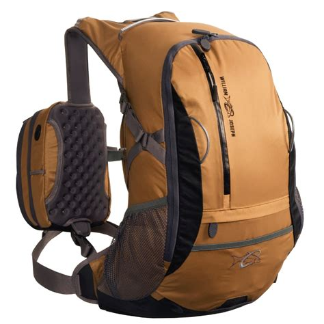 best fishing rucksack william joseph escape fly fishing backpack with dual chest