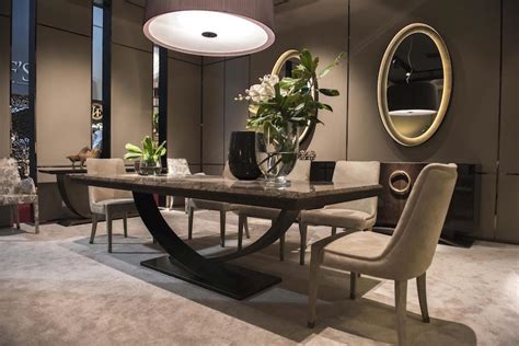 Luxurious Dining Tables 13 Modern Dining Tables From Top Luxury Furniture Brands