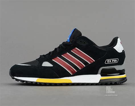 Adidas Zx750 Blue Made In adidas zx750 black cardinal sole collector