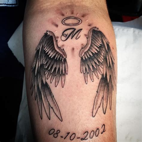 rose tattoo with angel wings designs prison designs wings rip
