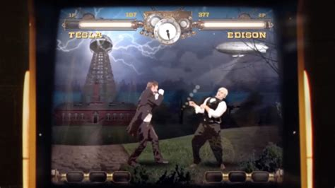 Tesla War Of Currents Tesla Vs Edison Arcade War Of Currents Literally