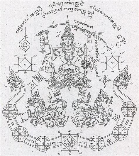 kata chanting for sak yant tattoos thailand amulets
