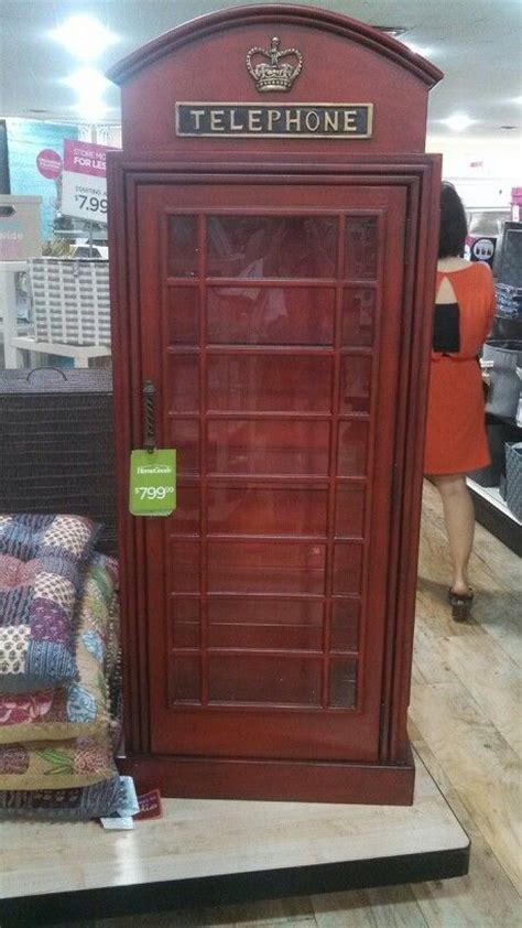 Telephone Booth Shelf by Telephone Booth Curio Cabinet At Homegoods 799