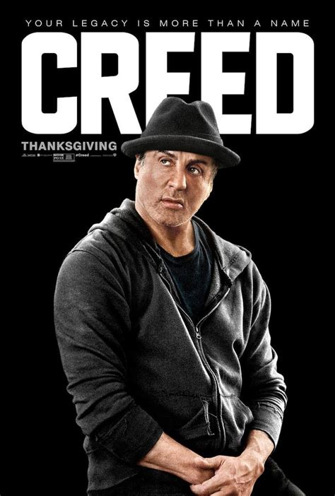 Plakat Rocky by Poster Creed L H 233 Ritage De Rocky Balboa Rocky
