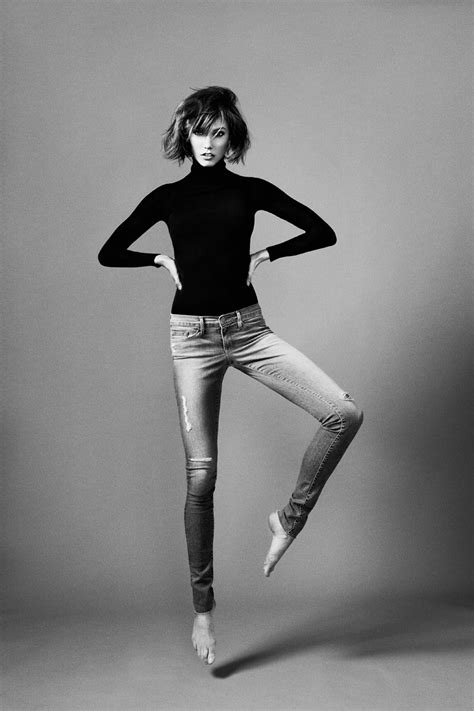 Karlie Kloss Teams Up with Frame Denim for Extra Long Jeans