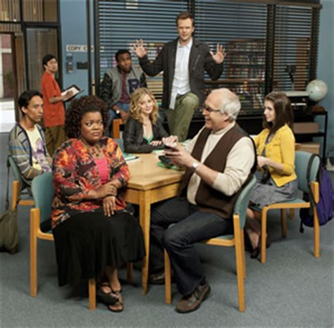 downward tv show cast community cast not worried about ratings