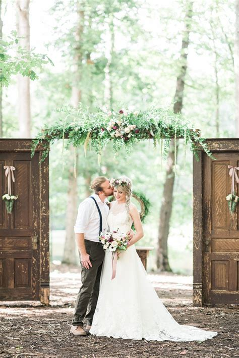 Wedding Rustic Vintage by Rustic Vintage Wedding With Sleeveless Illusion