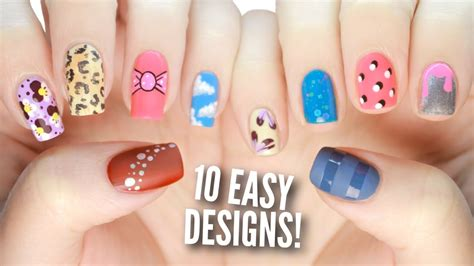 Easy Nail Designs 10 easy nail designs for beginners the ultimate guide