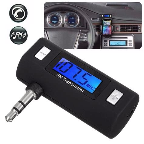 Car Mp3 Player Fm Wireless Transmitter For Iphone Samsung All Android 3 5mm wireless car fm transmitter radio mp3 player for iphone ipod alex nld