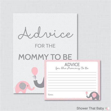 how to sign a baby shower card advice for to be cards and sign elephant baby shower