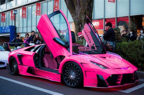 expensive pink cars lamborghini hurac 225 n rosa japon 233 s fueradeserie motor