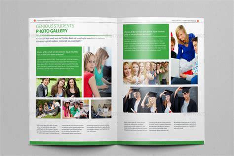 high school brochure template 40 college brochure templates free psd pdf word sle