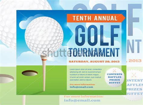 Golf Tournament Invitation Template Free 25 Fabulous Golf Invitation Templates Designs Free Premium Templates