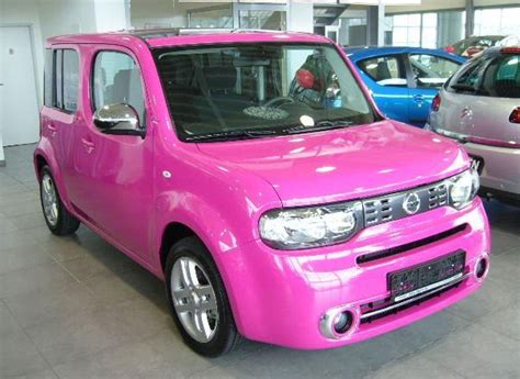 cube like cars pink cube