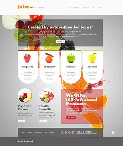 food drink wordpress theme 52695 templates com
