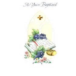 baptism greeting card the catholic company