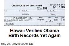 Hawaii Birth Records Joe Arpaio News Stories About Joe Arpaio Page 1 Newser