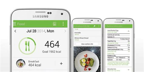a on look at samsung s s health app bell canada