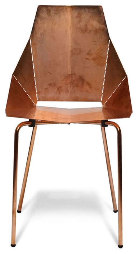 Copper Real Chair by Dot Copper Real Chair Modern Dining Chairs