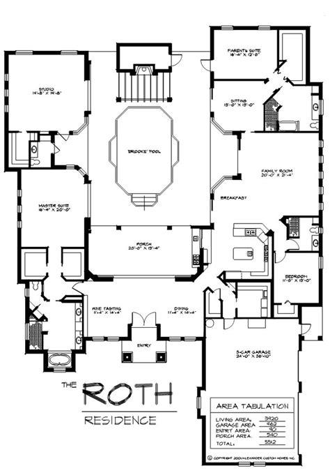 mother in law suite floor plans pinterest alexander custom homes home designers with mother in