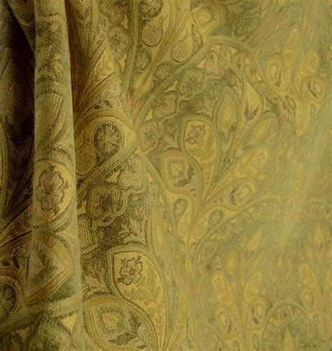 upholstery fabric tulsa tulsa garden olive green gold chenille damask upholstery