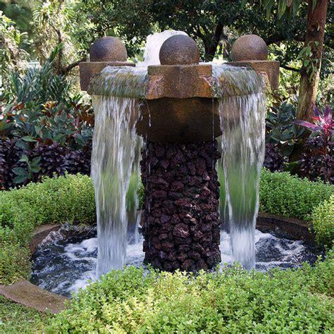 Outdoor Waterfall Fountain Fountain Design Ideas Backyard Fountains And Waterfalls