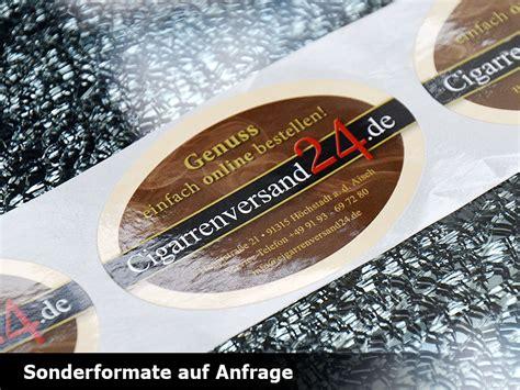 Aufkleber Individuelle Größe Drucken by Etiketten Auf Rolle Drucken Schnell G 252 Nstig