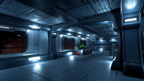Home Scene Interiors by Scifi Chambers Environment Set By Painkiller S Works In