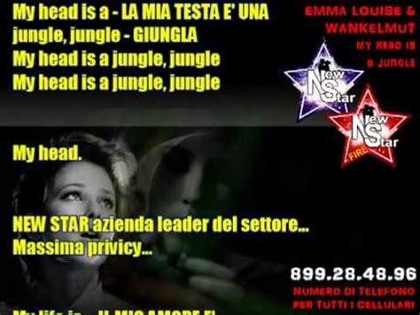 my is a jungle testo my is a jungle louise testo e traduzione