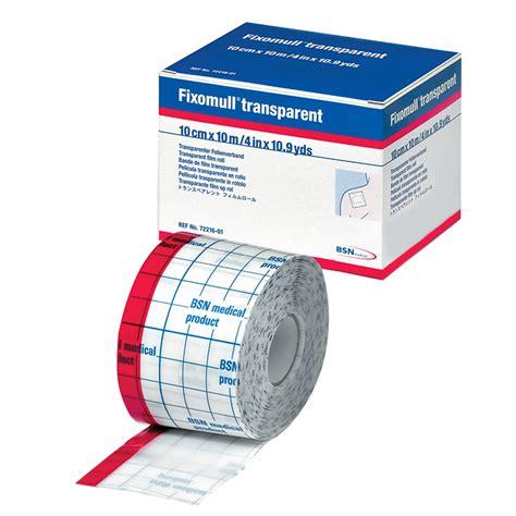 Fixomull Transparent fixomull 174 transparent 10 cm x 10 m shop apotheke