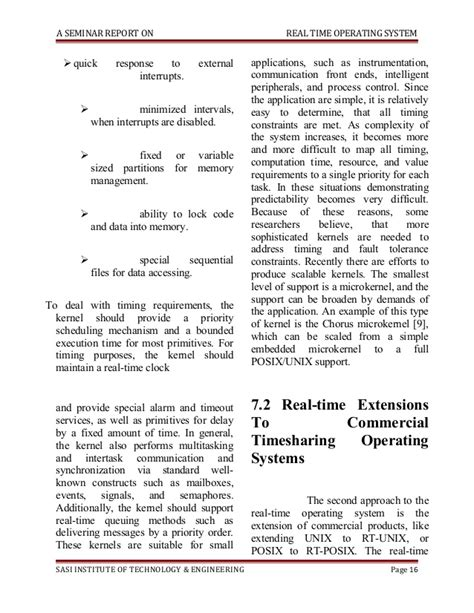 research paper on operating system operating systems paper