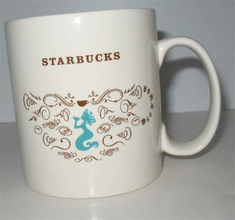 doodle starbucks mug starbucks mug this one features starbuck s iconic mermaid