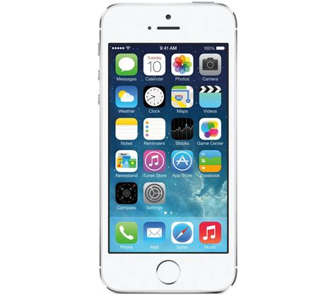currys mobile phones buy apple iphone 5s 16 gb silver free delivery currys