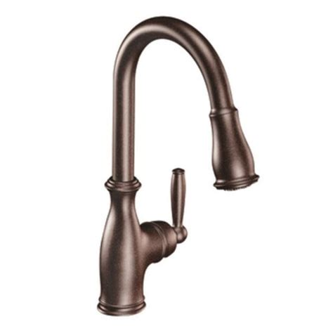 moen 7185eorb brantford with motionsense one handle high moen oil rubbed bronze pull down faucet oil rubbed bronze