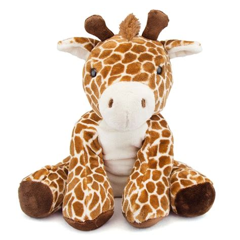 large plush animals comfies large giraffe stuffed animal by