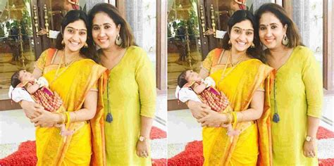 actress neelima rani husband photos vaani rani serial actress neelima rani blessed with baby