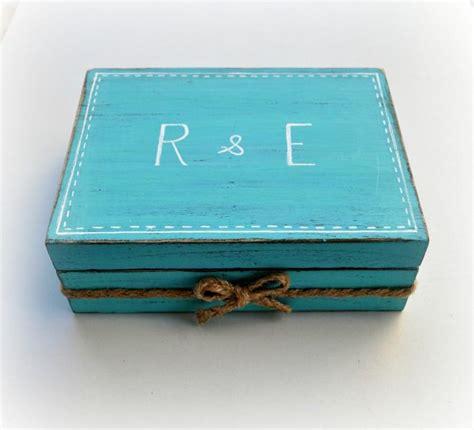 Ring Pillow Box wedding ring box rustic ring box ring pillow box