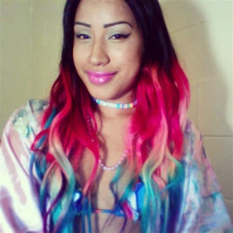 colored extensions rainbow ombre hair extensions colored hair by cloud9jewels