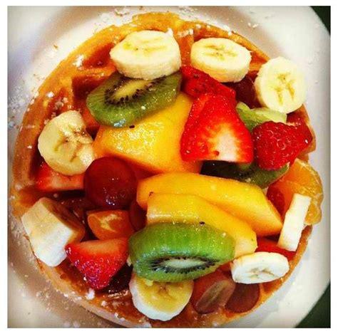 fruit waffles fruit waffles healthy snacks