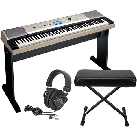portable keyboard bench yamaha ypg535 88key portable grand piano keyboard with