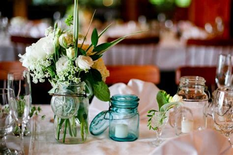 wedding table decoration ideas with jars jar wedding decor kate whelan events kate whelan