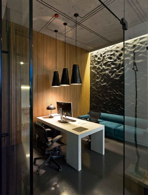 design an office modern minimalist office design with high ceiling and
