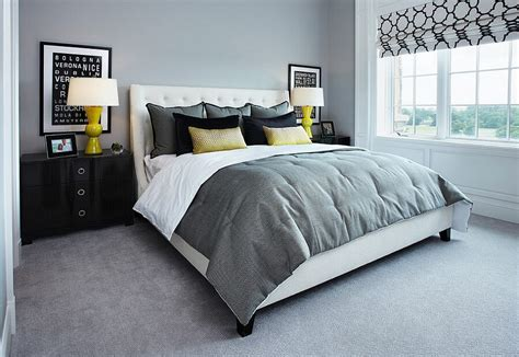 modern gray bedroom best 12 grey and yellow bedroom design ideas for cozy and
