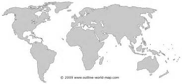 White World Map by Blank Map World