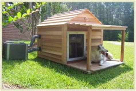 dog house ac unit 5 coolest dog house air conditioning systems