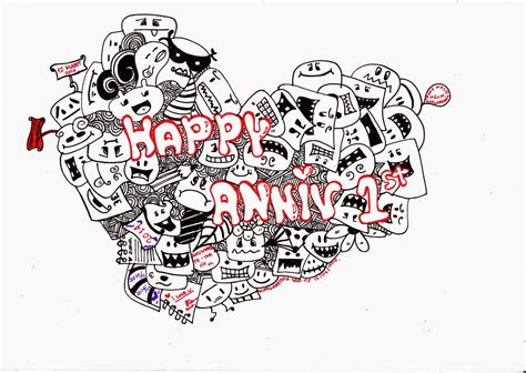 anniversary doodle the gallery for gt vintage air balloon coloring page