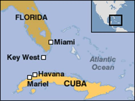 map of florida and cuba news americas mariel refugees voyage to success