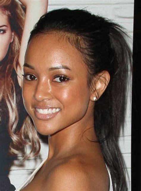brown hair wikipedia chris brown s vietnamese descent girlfriend karrueche tran