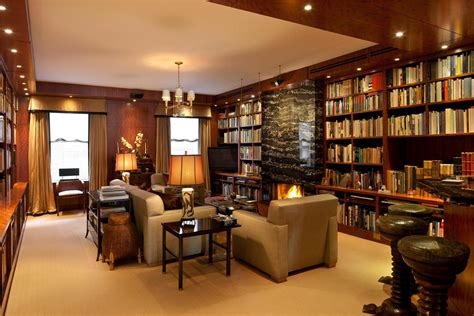 impressive luxury home libraries design 7130