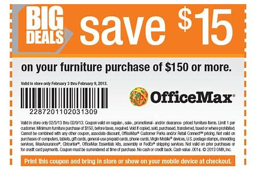 office depot coupon code 30 off 150